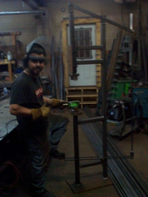 Treadle hammer build