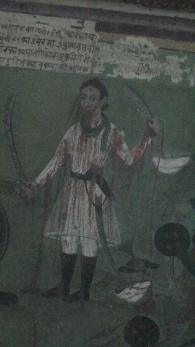 Name:  captain_Sambhir_singh_rayamajhi_painting.jpg Views: 411 Size:  58.9 KB
