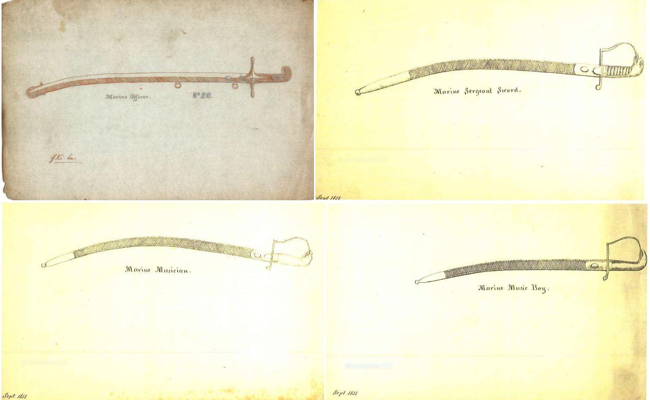 Name:  1851 Sketches Marine swords.JPG Views: 224 Size:  80.2 KB